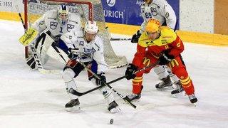 Hockey: l'occasion était belle face à Zoug Academy Sierre l'a saisie