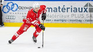 Hockey: le HCV Martigny perd la tête face à Dübendorf