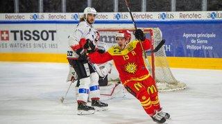 Hockey: Sierre s'offre encore trois points précieux face à Viège