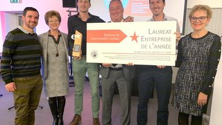 Buchard Voyages décroche le prix «Entreprise Valais excellence de l'année»