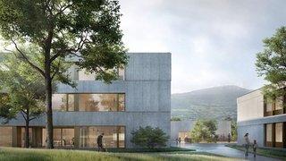 La future école d'Ardon s'appuie désormais sur sa première pierre
