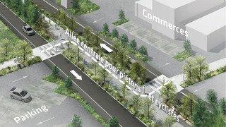 Le grand lifting de la zone commerciale de Conthey, ce défi collectif et périlleux