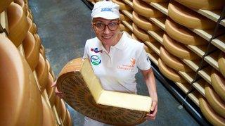 La Montheysanne Zoé Vionnet, prometteuse relève de l'industrie laitière