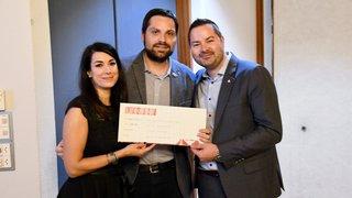 La Jeune Chambre Internationale de Sion soutient l'association Proches Aidants Valais