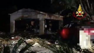 Sicile: quatre morts dans l'explosion d'un dépôt de feux d'artifice