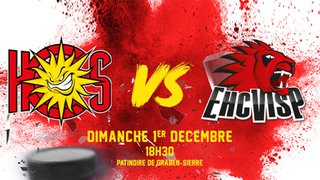 Derby : HC SIERRE - EHC VISP : 01.12.2019