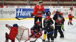 Hockey: les enfants pourront côtoyer, sur la glace, les joueurs de ligue nationale durant une journée d'initiation