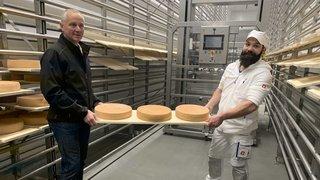 Valais: un nouvel écrin et un robot pour servir les fromages du val d'Illiez