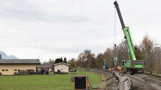 Troisième correction du Rhône: trois chantiers lancés en Valais