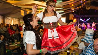 Oktoberfest: Monthey à l'heure bavaroise