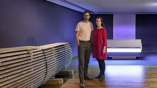 Badel et Sarbach: un binôme éblouissant au Musée d'art du Valais