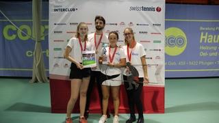 Tennis: les filles du TC Port-Valais championnes de Suisse juniors U15