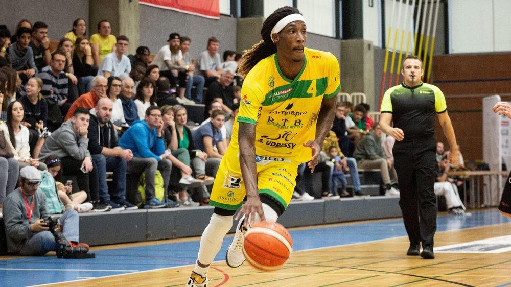 25 points pour le Montheysan Dunans samedi soir dans le derby face à Vevey Riviera Basket.