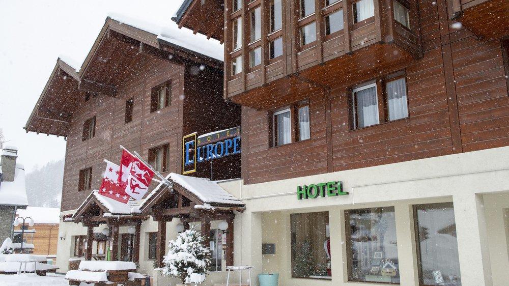 Depuis son rachat par la société des Cinq 4000, l'hôtel Europe de Zinal a vu sa fréquentation grimper en flèche.