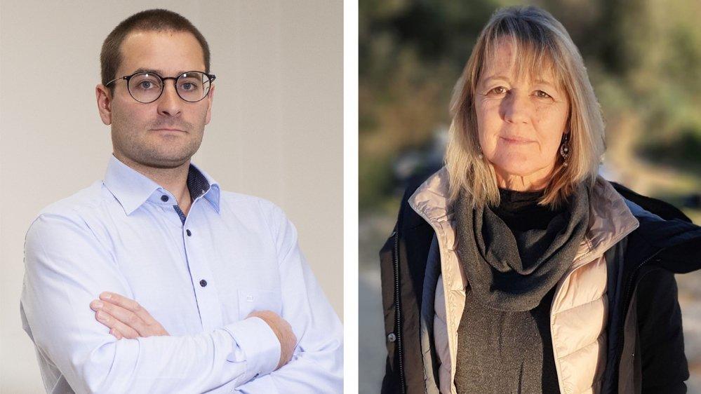 Le torchon brûle entre Arnaud Schaller, directeur de l'AVALEMS et Nathalie D'aoust-Ribordy, secrétaire régionale du Syndicat suisse des services publics.