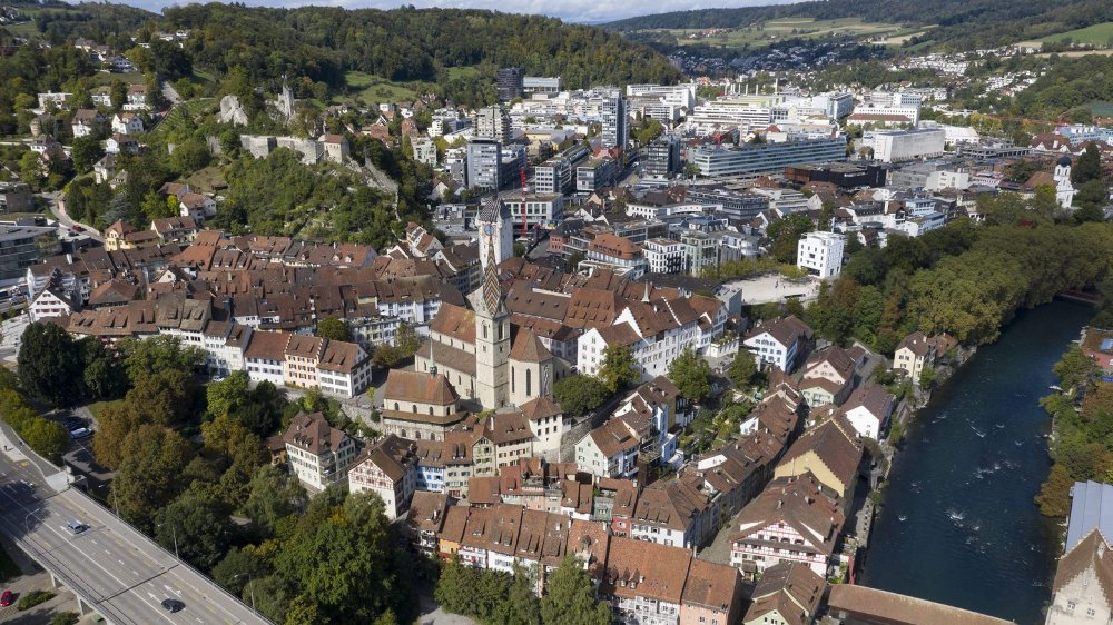 La vieille ville de Baden a été libérée du trafic automobile.