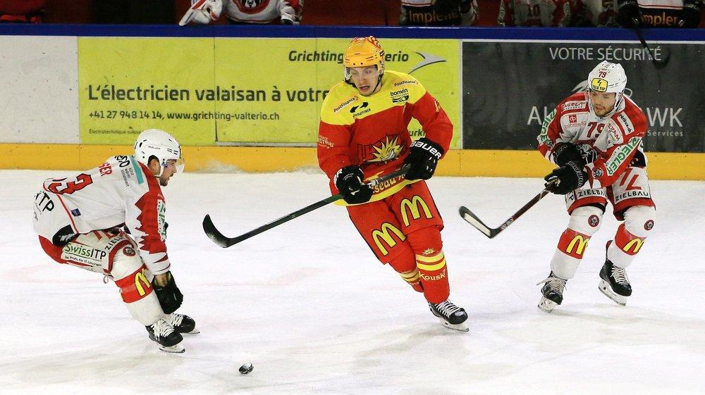 Guillaume Asselin, auteur d'un but et de trois passes géniales pour Rémy Rimann, compte désormais 35 points depuis le début de la saison.
