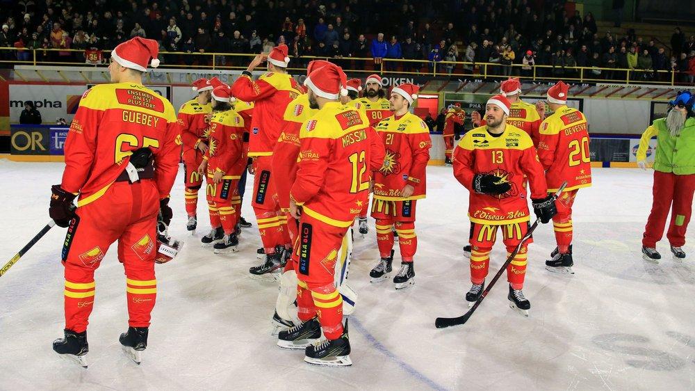 A Noël, le HC Sierre est très bien parti pour se maintenir en Swiss League. Les play-off, ce sera plus difficile.