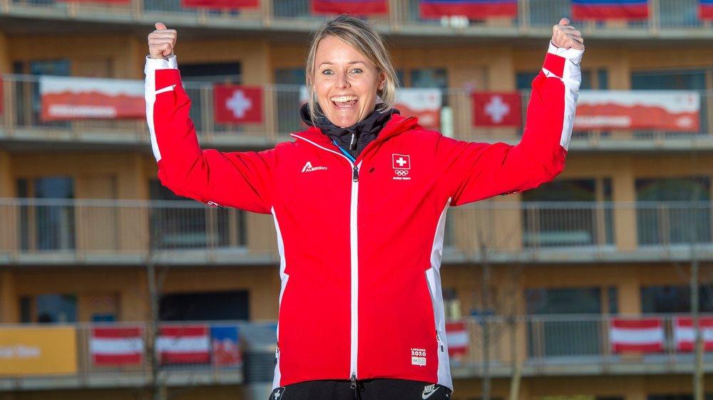 Corinne Staub apprécie le village olympique. A l'intérieur, les athlètes suisses seront plutôt libres de leurs mouvements.