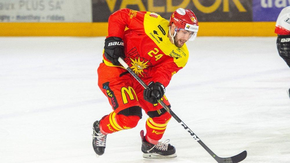 Mathieu Vouillamoz a inscrit son premier but en ligue nationale en égalisant à Winterthour.
