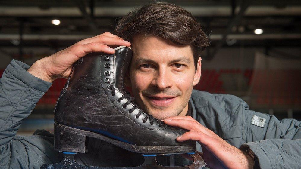 Depuis six ans, Stéphane Lambiel dirige sa propre école de patinage à Champéry. Il entraîne aussi les athlètes suisses et japonais.