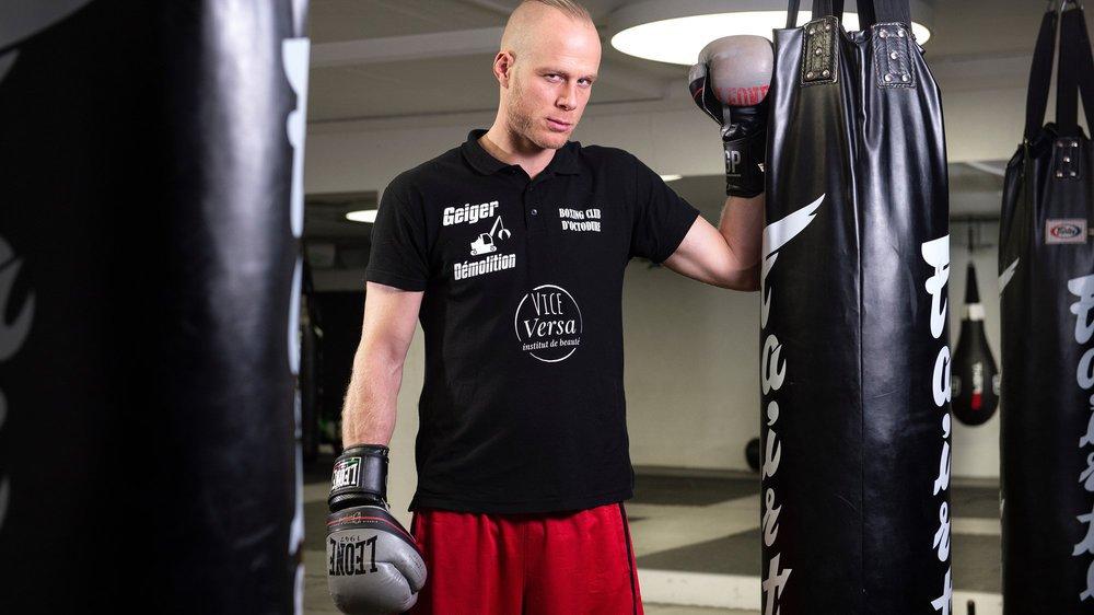 Benoît Huber a beaucoup travaillé, physiquement, pour tenir la distance des dix rounds. Il sait à quoi s'attendre face à Seid Dzemaili.