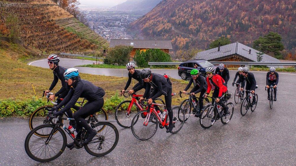 Plusieurs coureurs suisses ont reconnu la Petite Forclaz, là où se jouera le titre lors des Mondiaux 2020, en début de semaine.