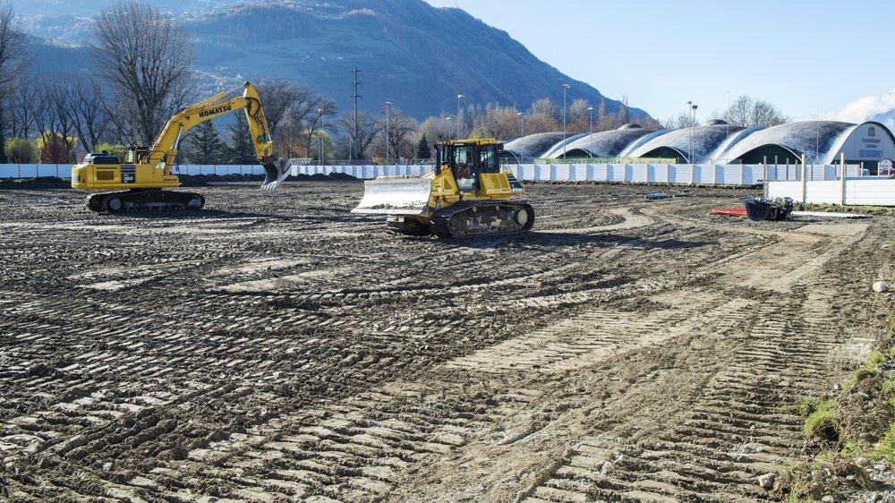 Les travaux ont commencé le 19 novembre dernier.