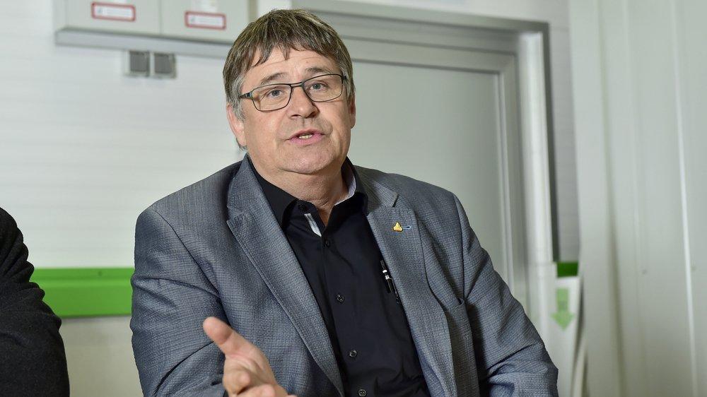 Raymond Borgeat: «Les membres auront le choix entre quatre scénarios possibles dont celui de la disparition du parti.»