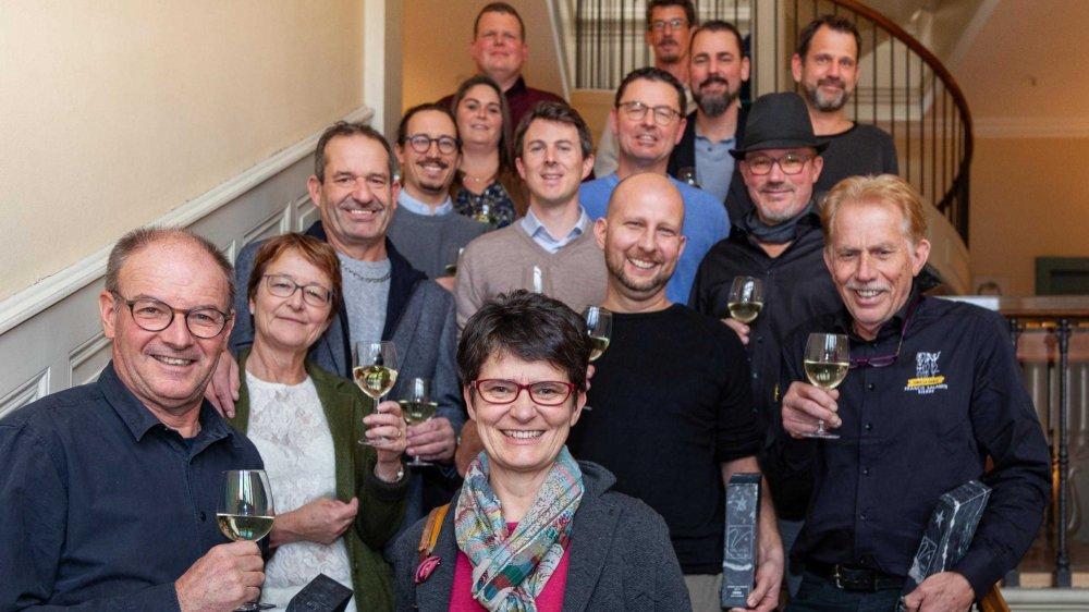 Les lauréats du concours Les Etoiles du Valais 2019 ont reçu leur prix ce mercredi à Berne.