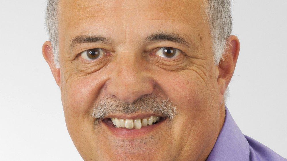 Gilbert Jacquemoud est président d'Evionnaz depuis 2009.