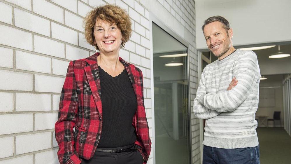 Marianne Maret et Christophe Clivaz, les deux personnalités qui résument à elles seules, ou presque, l'année politique valaisanne.