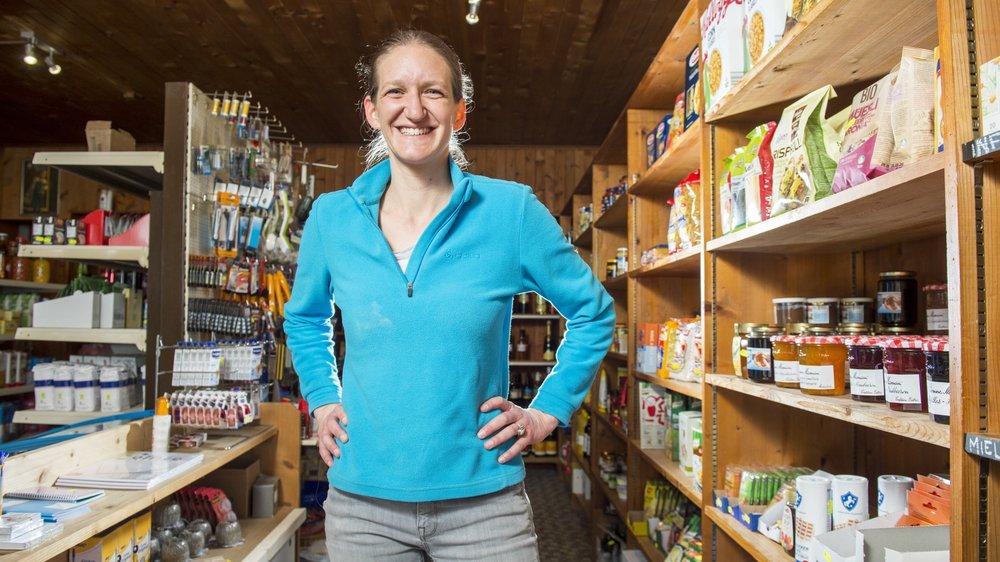 Marlène Mauris a troqué la communication de Pro Helvetia pour l'épicerie de La Sage.