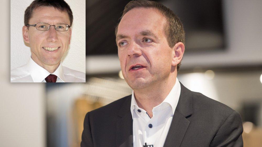 Le Zurichois Otmar Hofer succède au Valaisan Raphaël Garcia à la tête de la coopérative valaisanne.