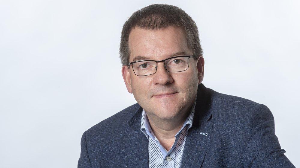 Olivier Rausis, journaliste.