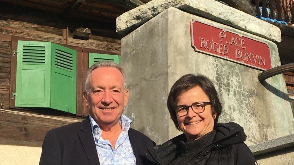 A travers ce projet, Martial Kamerzin et Christine Clausen, espèrent renforcer les liens entre le haut et le bas.