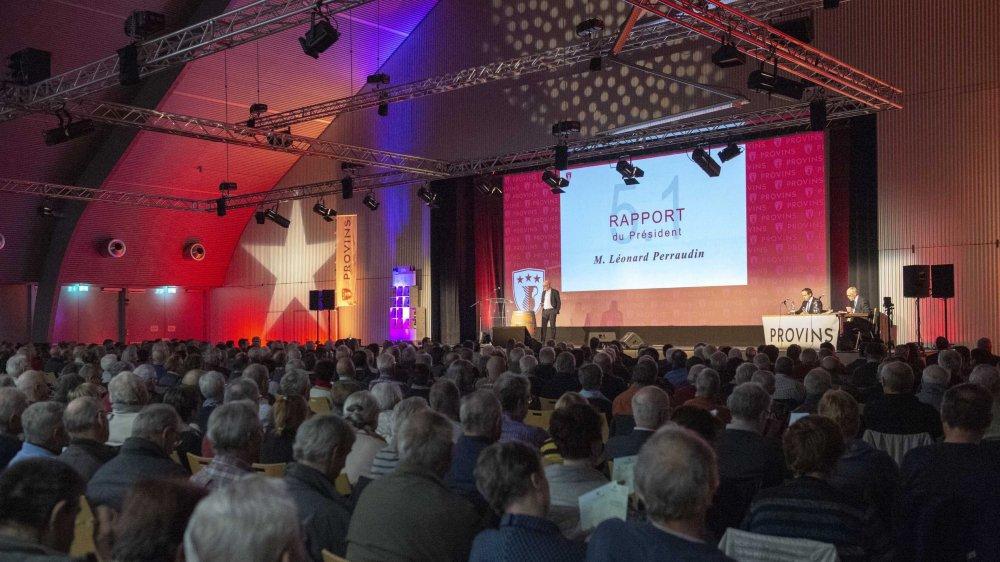Le 12 décembre, Provins tenait son assemblée générale. La décision de refuser un changement de statuts de la coopérative, prise ce soir-là, bloque le paiement des vendanges 2018 et 2019.