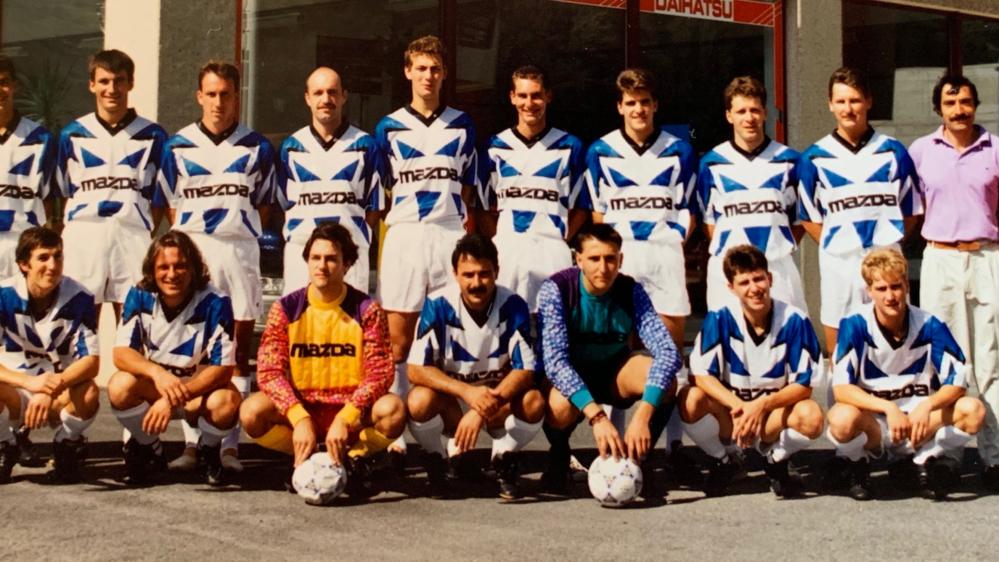 En 1994, le FC Riddes était redoutable sous la houlette d'Alvaro Lopez.