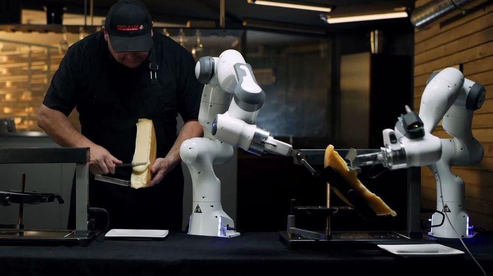 La vidéo de présentation du Roboclette, qui met en scène Eddy Baillifard, a fait un carton.