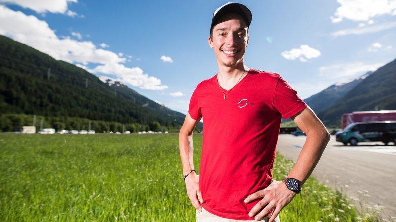 Simon Pellaud a notamment enlevé le maillot de meilleur grimpeur du Tour de Romandie.