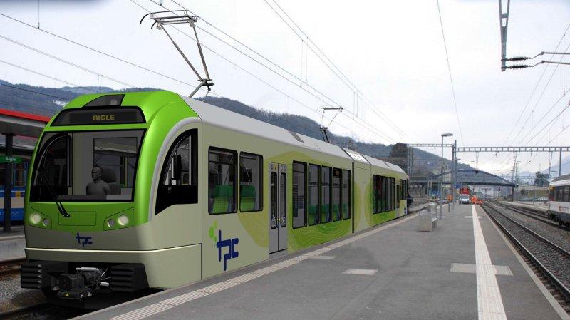 Le projet propose notamment une nouvelle voie de Collombey jusqu'à la gare de Monthey.