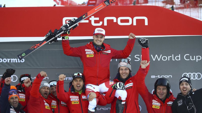 Ski alpin: la polyvalence de Loïc Meillard récompensée