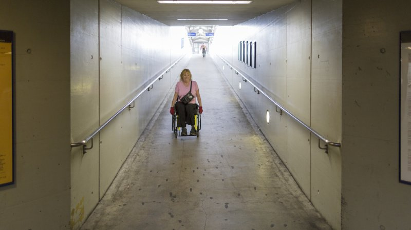 Transports publics: 74 gares et arrêts ferroviaires ont été adaptés aux handicapés en 2019