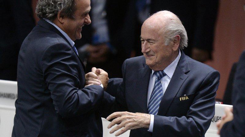 Cette fois, c'est la FIFA qui assigne en justice ses deux anciens hommes forts (archives).