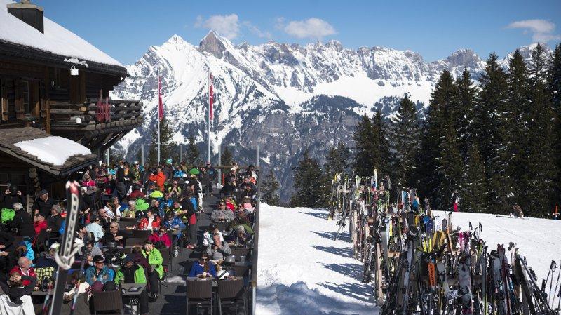 Sports d'hiver: l'affluence a été en partie record dans les stations suisses durant les fêtes
