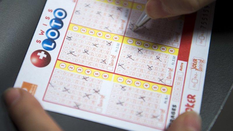 Loterie: le Swiss Loto fait un nouveau millionnaire