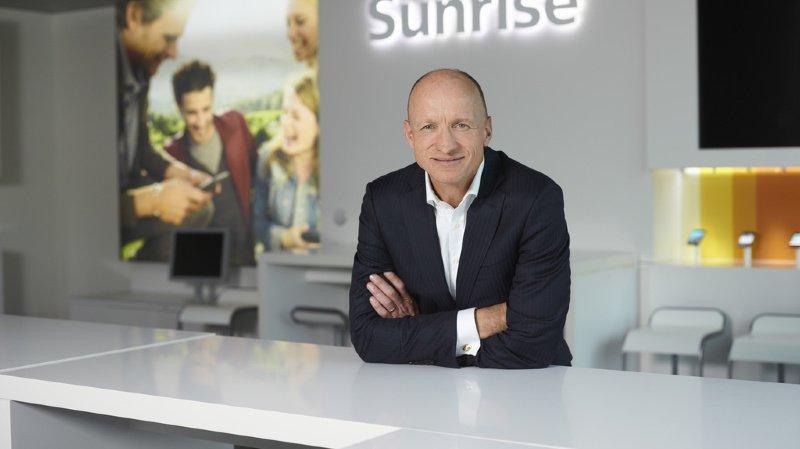 Sunrise: le directeur général Olaf Swantee démissionne après la fusion avortée avec UPC Suisse