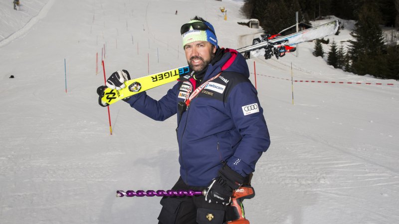 Matteo Joris, un entraîneur heureux.