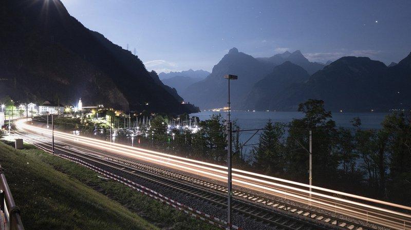 Trafic ferroviaire: Sommaruga veut 1,3 milliard de plus pour l'entretien du réseau