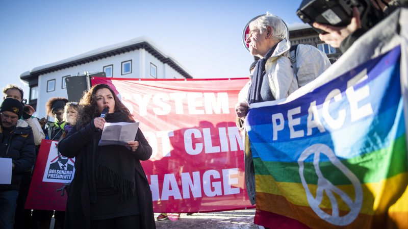 WEF 2020: manifestations prévues contre le Forum de Davos et pour le climat